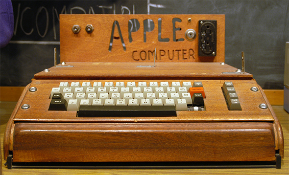 Старомодный компьютер Apple