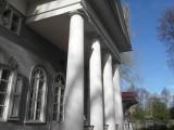 Крыльцо с колоннами