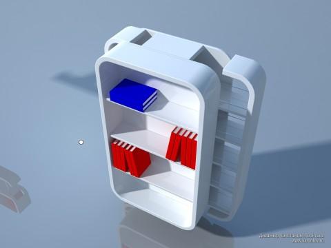 3Д шкаф