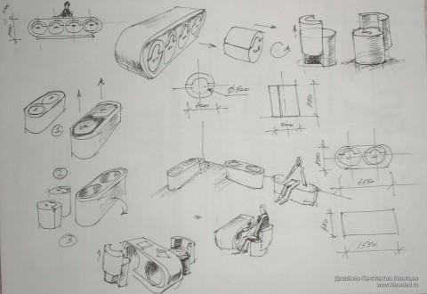 Рисунок на бумаге