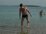 На пляже в Эйн-Бокек