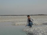 Соляное поле в Эйн-Бокек