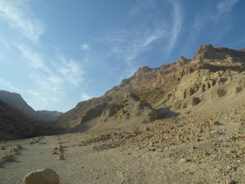 Вид на каньон Эйн-Геди