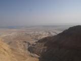 Вид с крепости Масада