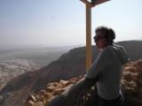 Смотровая в восточной части Масады