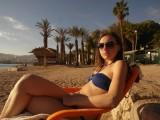 На пляже Эйлата