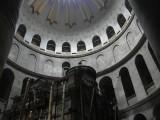 под куполом Храма Гроба Господня