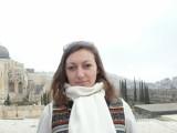 Красавица в очереди на Храмовую гору