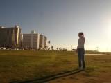 В парке Charles Clore на набережной
