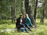 За грибами в ближайшем лесу
