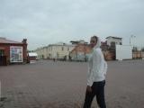 Во дворе Омской крепости
