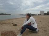 Городской пляж, за плечами 5 км пути.