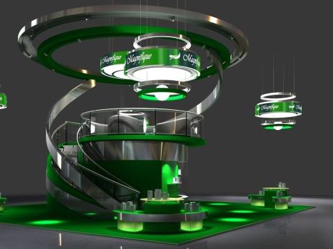 3D Выставочный Стенд