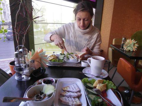 Завтрак в Эники-Беники