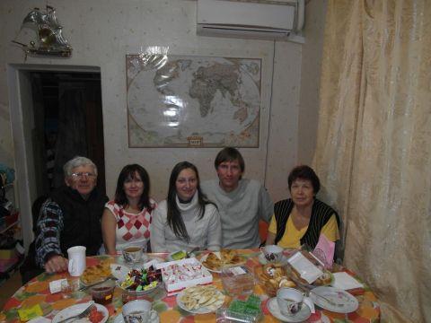 В гостях у родственников