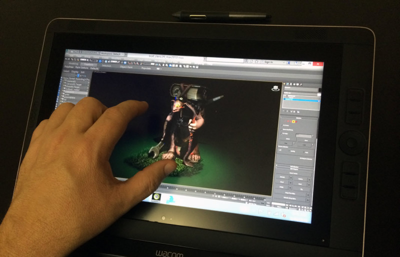3ds max 2016 multitouch-support