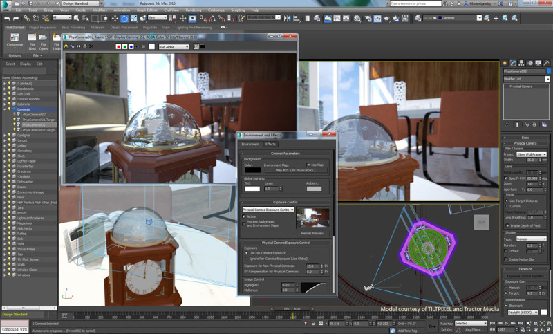 3ds max 2016 physical-camera