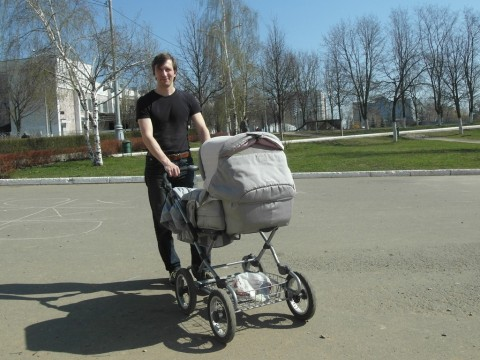 Водитель коляски
