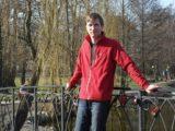 На мостике в парке Зеленоградска