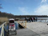 На озере Чайка на Куршской косе