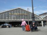 На вокзале Калининграда
