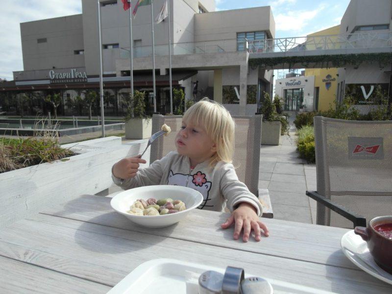 Обедаем в пельменной в Мандарине