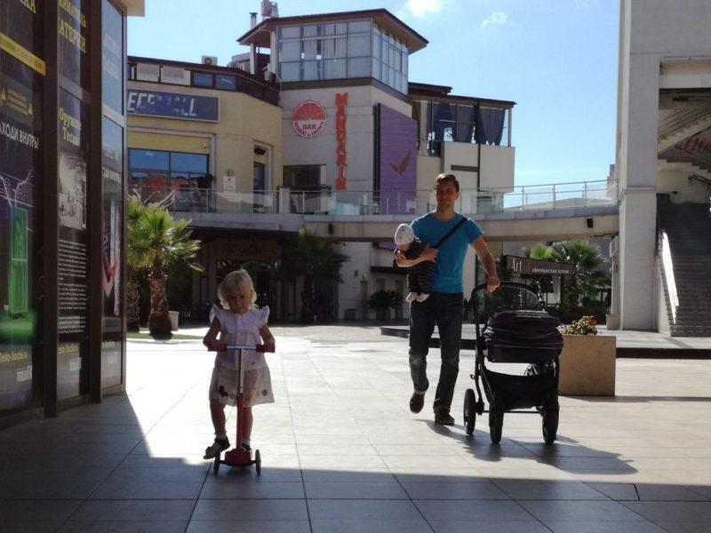 Через Мандарин к детской площадке