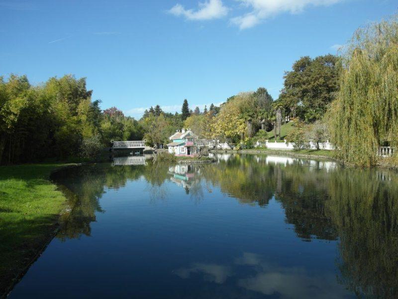 Парк Южные Культуры - Верхний пруд
