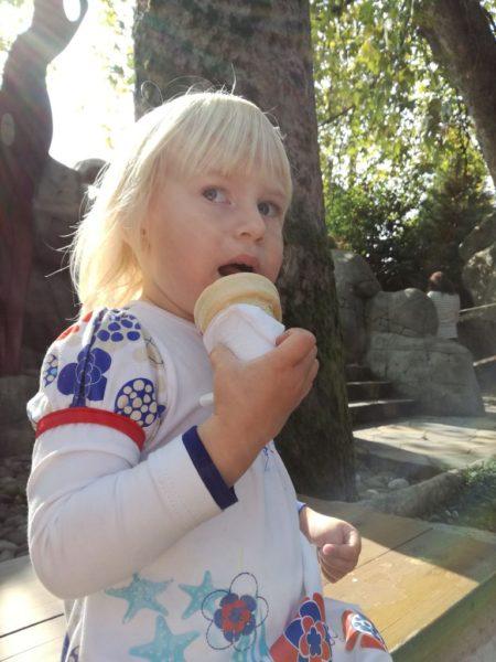 Мороженное в парке Ривьера