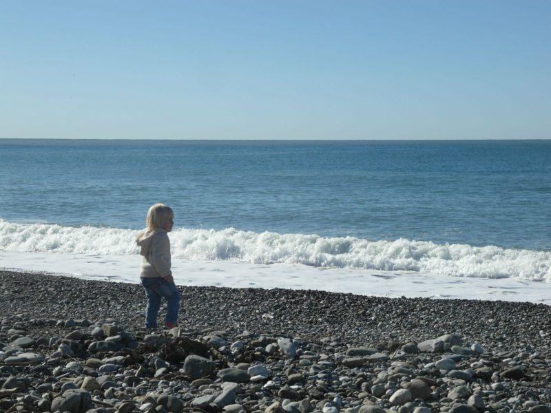 3 ноября на пляже в Адлере