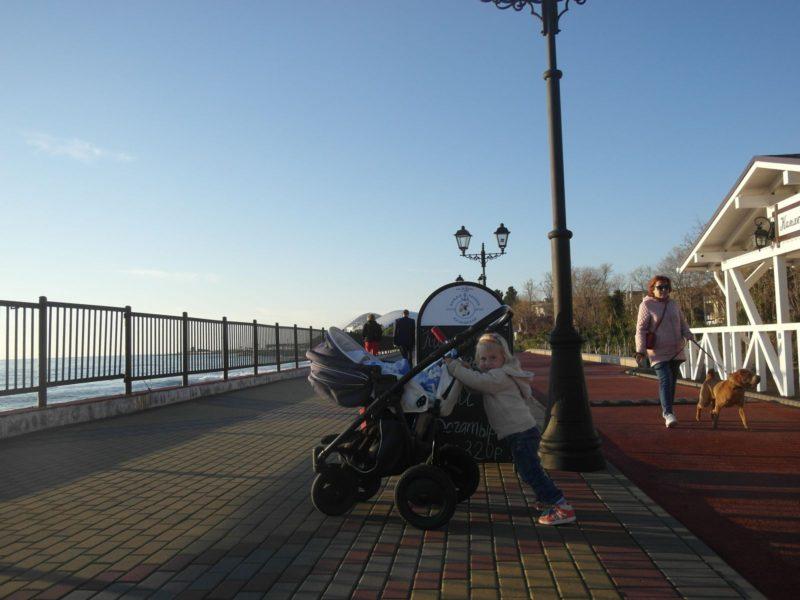 На набережной у дома - 30 ноября