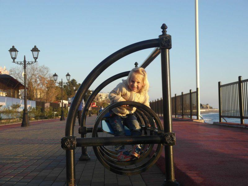 Велопарковка на набережной