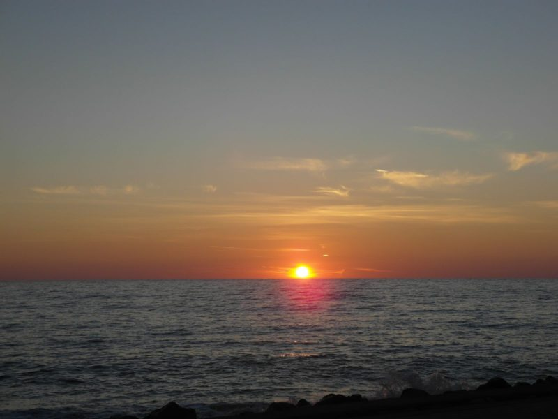 Еще один закат на Черном море