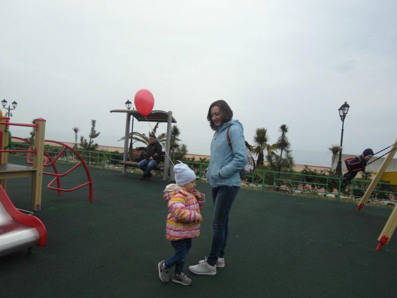 На кораблике с мамой 8 февраля